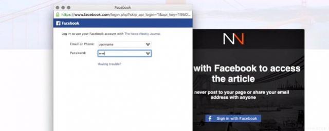 Olha o golpe: sites estão usando login falso do Facebook para roubar dados