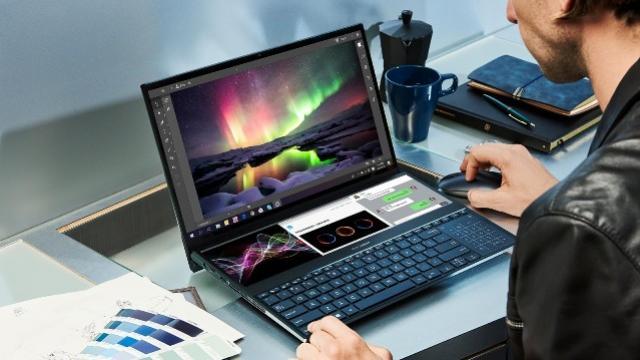 Asus Revela ZenBook Pro Duo com duas telas