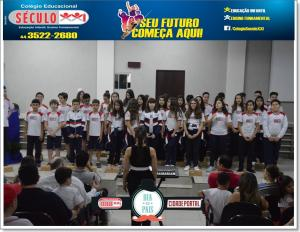 Alunos do Colégio Educacional Século XXI homenageiam Pais com apresentações na Câmara Municipal de Goioerê