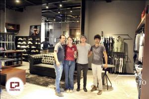 Inaugurou em Goioerê Adamanto Store - Loja de Confecções Masculinas