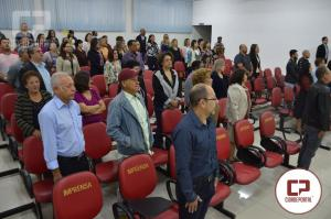 Professora Zilda Pimentel foi homenageada na Câmara de Goioerê com Moção de Aplausos