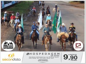 A 13ª Cavalgada da SRG de Goioerê reuniu mais de 200 cavaleiros neste domingo, 03