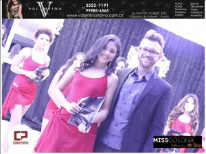 Tayla Carolina vence o concurso de Miss Goioerê