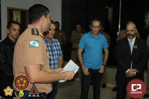 Entrega de Certificados aos Policiais Militares e Homenagem ao Mestre Federico Dinatale