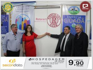 O advogado Cleber Hilgert foi empossado como presidente 2018/2019 no Rotary Club de Goioerê