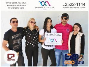 Expo Goio 2018 - veja a galeria das Fotos do almoço de Domingo, 12