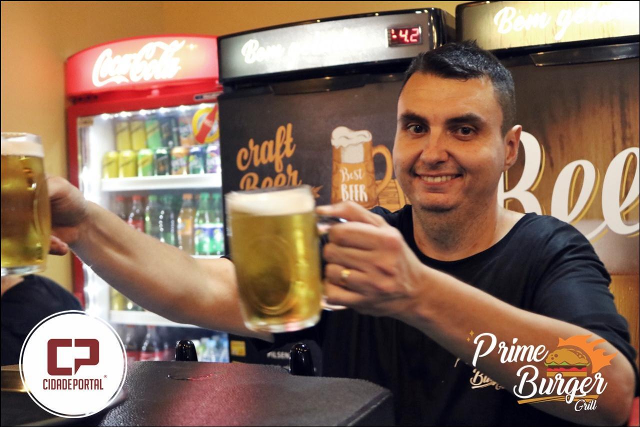 Galeria de fotos da inauguração da Prime Burger