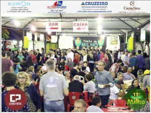 Galeria de fotos do Sábado, 18, da 11ª Festa do Milho