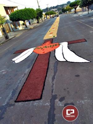 Católicos celebram Corpus Christi em Goioerê