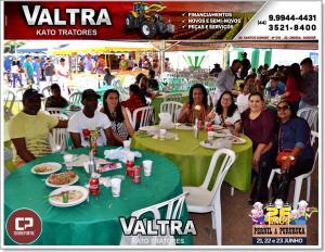 Fotos da entrada do Almoço do Pernil a Pururuca de Farol