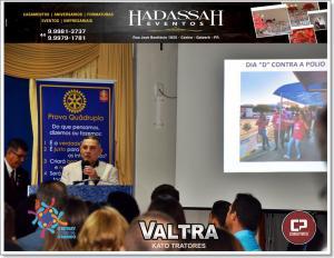 Novo Conselho Diretor do Rotary Club de Goioerê foi empossado nesta sexta-feira, 28