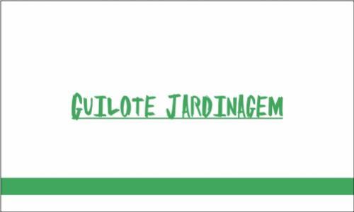 Guilote - Manutencao e Jardinagem