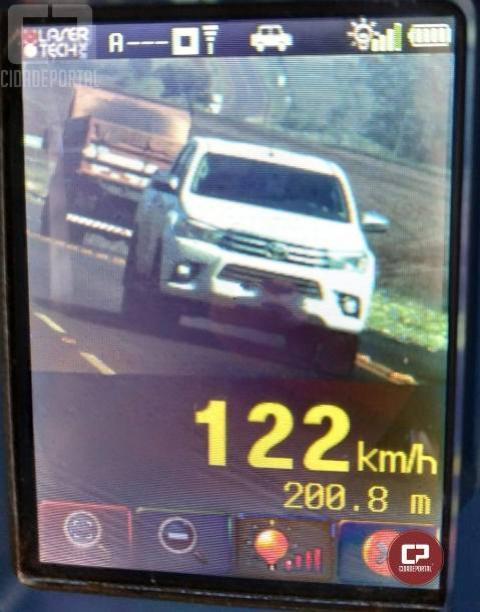 42 motoristas foram autuados pela PRE durante a operação Radar em Cascavel