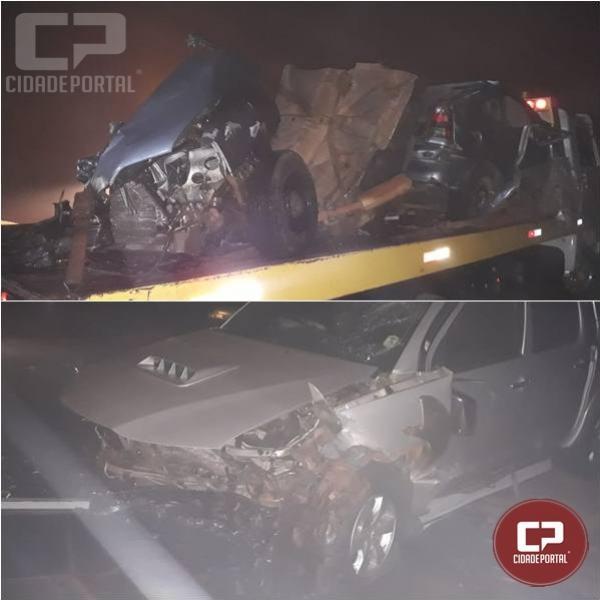 Contrabandista morre em acidente ao fugir da polícia em Ouro Verde do Oeste