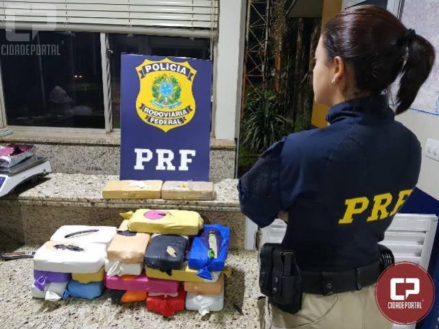 Polícia Rodoviária Federal encontra droga em tanque de combustível em Santa Terezinha de Itaipu