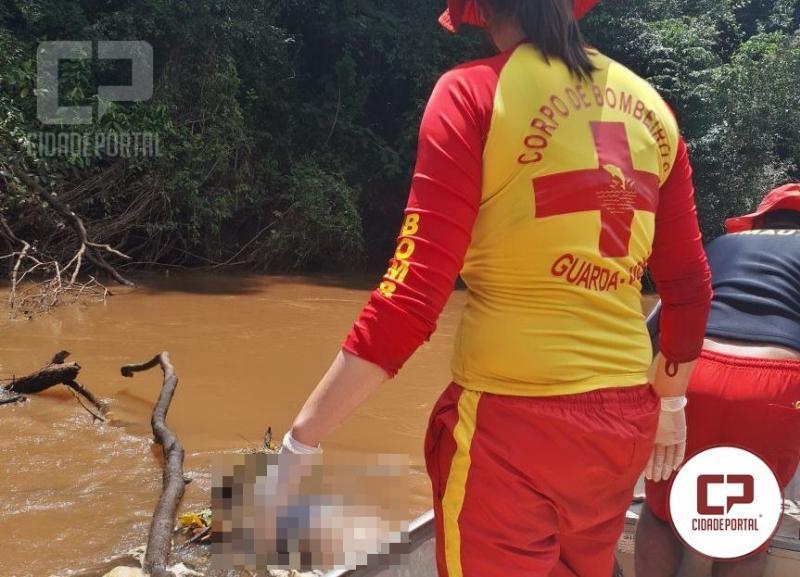 Corpo do Jovem que estava desaparecido a três dias no Rio Goioerê foi encontrado
