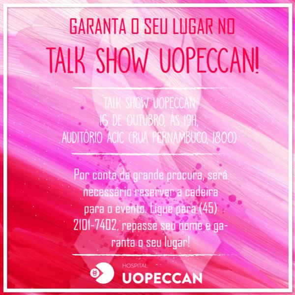 Como Fazer Adesivos De Oncinha ~ Talk Show vai levantar discuss u00e3o sobre o c u00e2ncer de mama