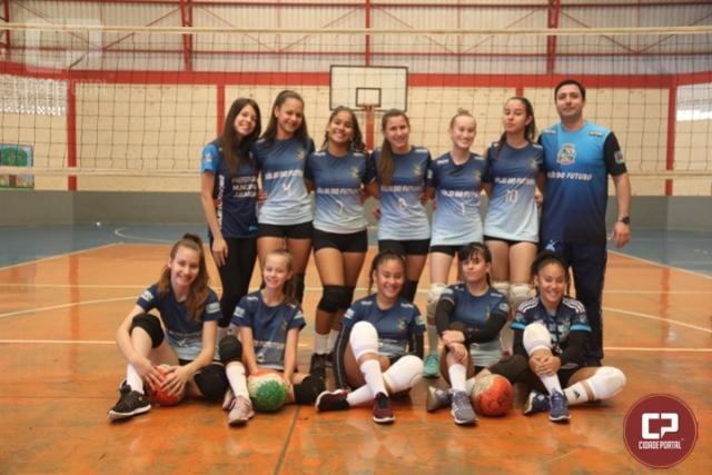 Juranda vence etapa e mantém liderança da Copa Talentos em Ação de Vôlei
