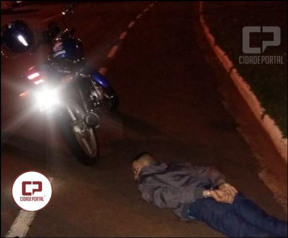 Motociclista teve sua moto apreendida pela Polícia Militar de Londrina após flagrante de direção perigosa