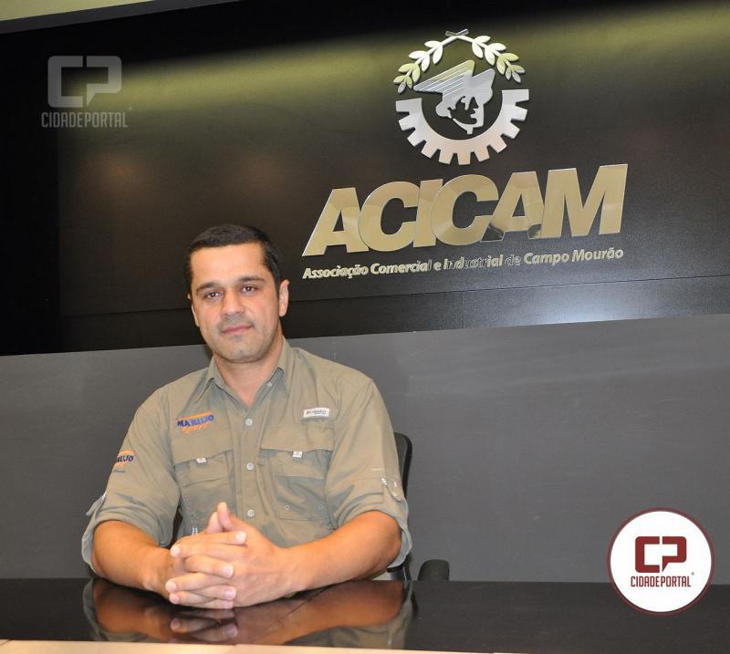 Foi eleita e empossada a nova diretoria da Acicam - Campo Mourão