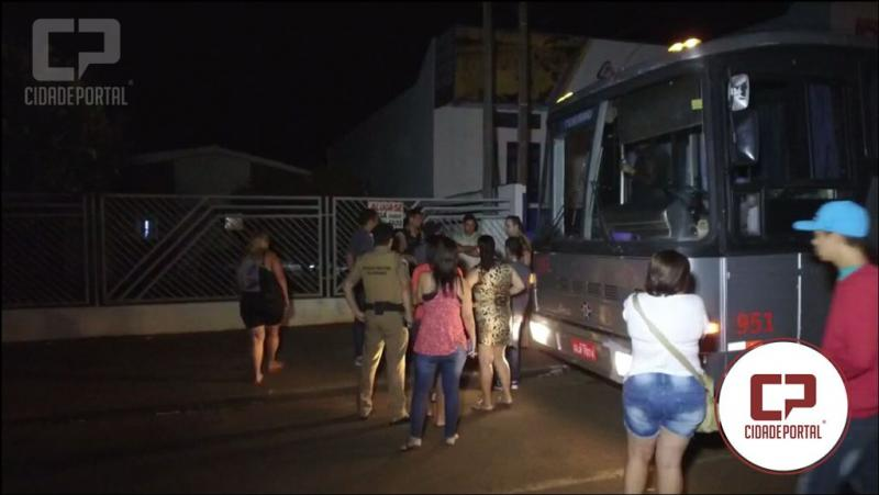 Aconteceu mais uma tentativa de assalto a ônibus na região de Campo Mourão