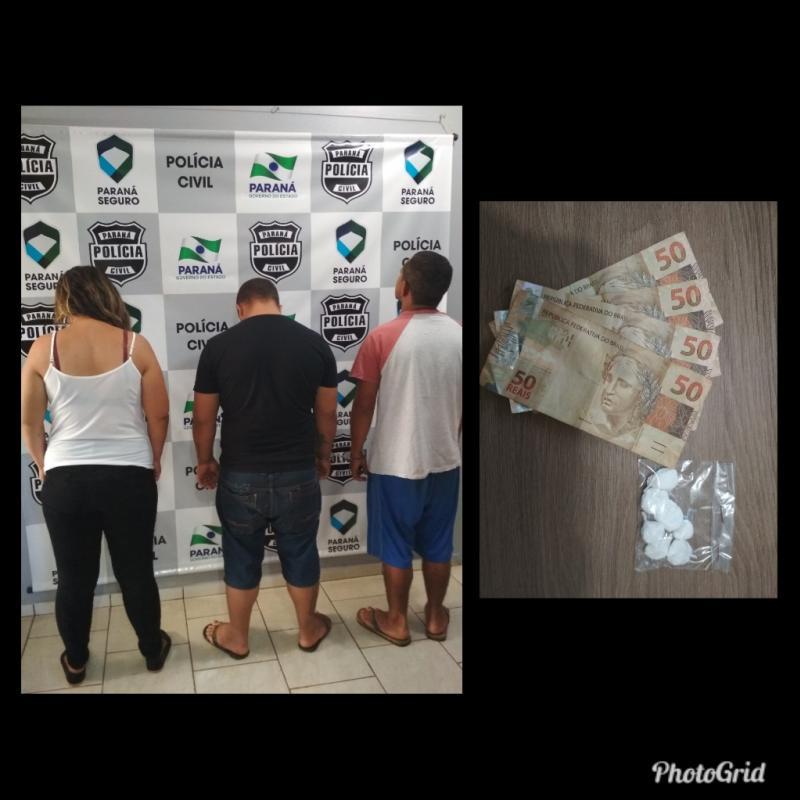 Ação conjunta das Policias Civil e Militar cumprem mandados de prisão em Cafelândia