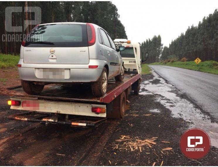 Veículo roubado durante assalto em fazenda em Moreira Sales foi recuperado