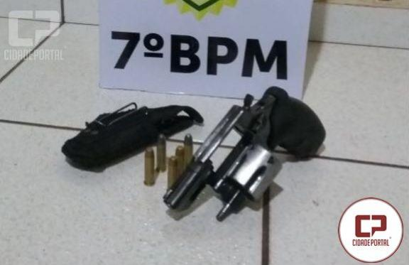 Arma é apreendida durante abordagem de adolescentes na cidade de Moreira Sales