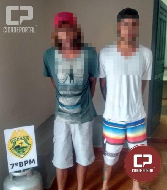 Três pessoas acabam presos em Paraná do Oeste, duas por furto e uma por receptação