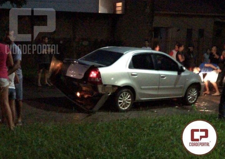 Criança de 3 anos fica gravemente ferida após acidente automobilístico em Ubiratã