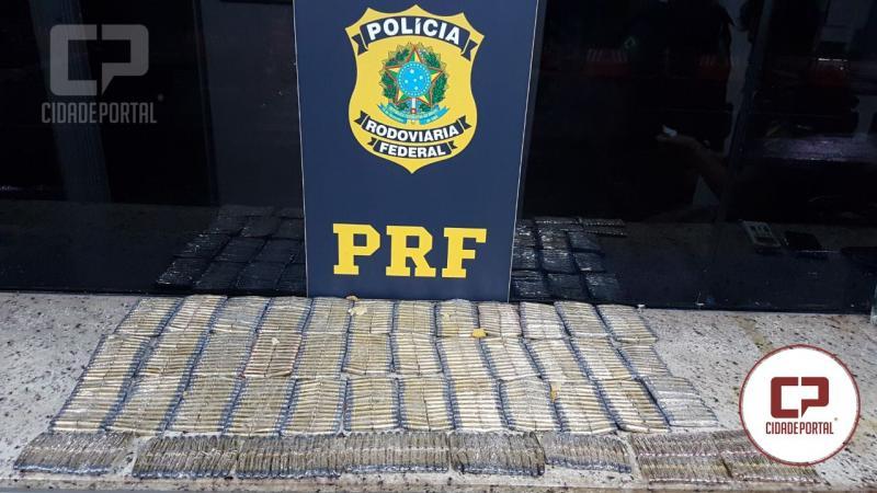 Polícia Rodoviária Federal apreende 1.150 munições no posto de Ubiratã