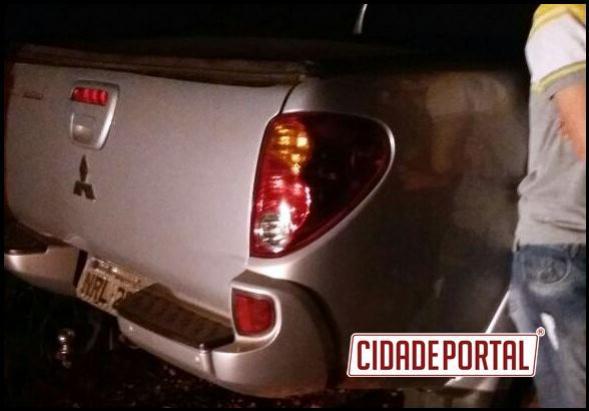 Policiais do destacamento de Campina da Lagoa recuperam caminhonete furtada em Sales de Oliveira