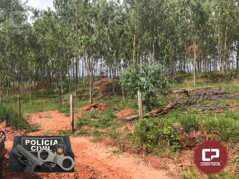 Corpo em estado adiantado de decomposição foi encontrado em Umuarama