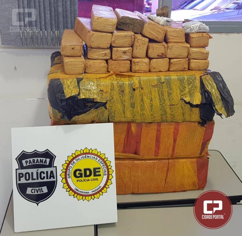 Polícia Civil de Umuarama e Denarc de Maringá desarticulam organização criminosa de tráfico de drogas