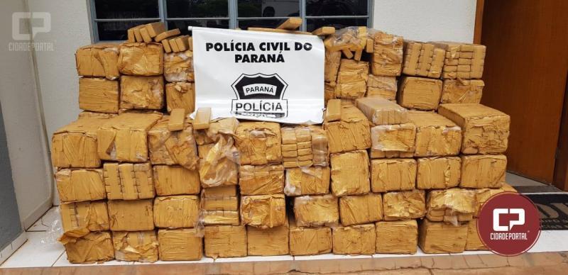 Polícia Civil apreende 1.550 kg de maconha em Umuarama - PR