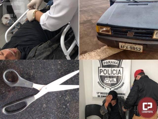 Policiais Rodoviários salvam família que era mantida refém dentro de veículo na PR-323
