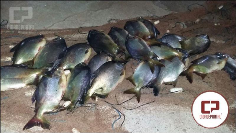 Policia Ambiental de Umuarama realiza a prisão de Pescador no período de piracema
