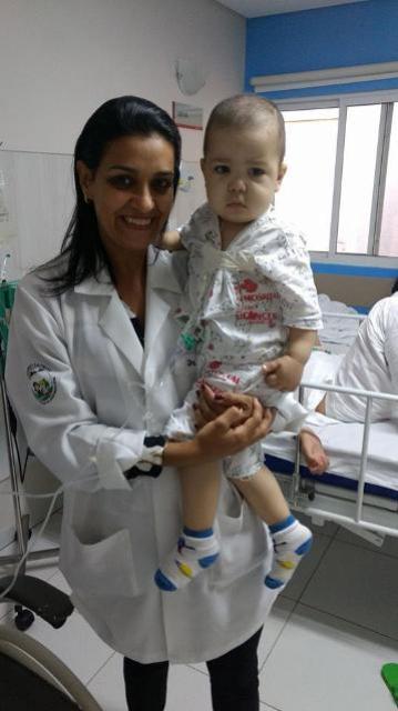 Youtuber famoso ajuda mãe de paciente do Hospital Uopeccan