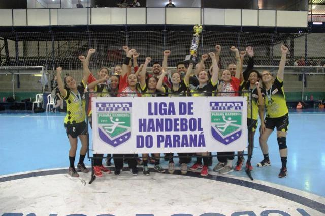 Jussara comemora título inédito da Chave Prata do Paranaense de Handebol Juvenil