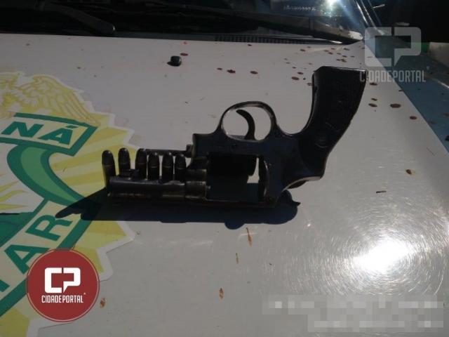Polícia Ambiental de Umuarama prende uma pessoa por porte ilegal de arma de fogo