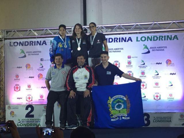 Atleta Umuaramense se destaca nos jogos abertos do Paraná representando a cidade de Campo Mourão