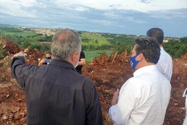 Estado reforça importância do combate à erosão em municípios da região do Arenito