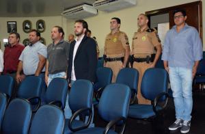 Solenidade marcou a posse do novo delegado da comarca de Mamborê