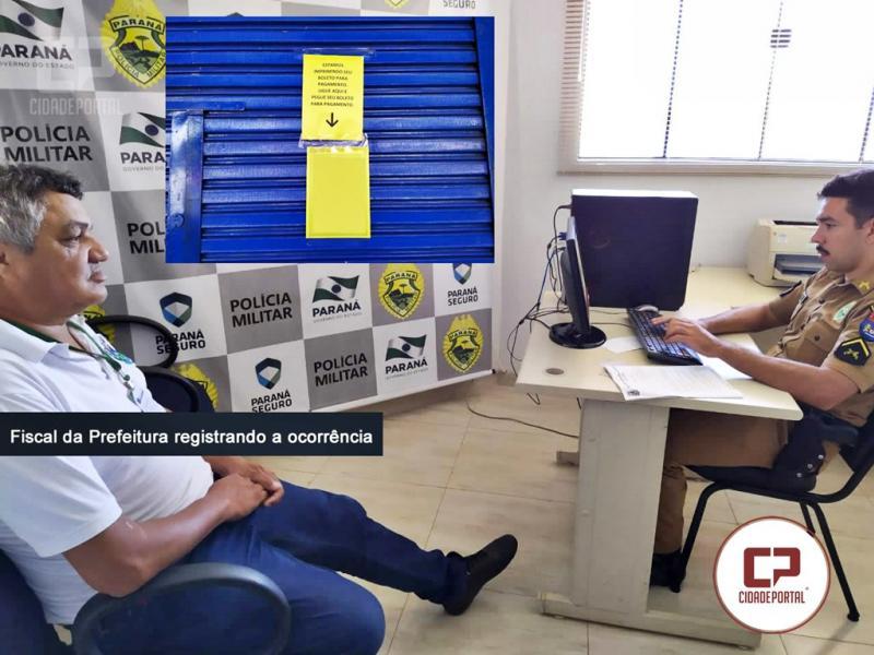 Administração Municipal de Goioerê multa loja em 5 mil reais por descumprimento ao decreto 6.660-2020