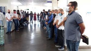Prefeito Betinho Lima reuniu equipe para agradecer 90 dias de sua gestão