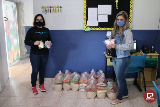 Secretaria de Educação de Goioerê realiza entrega dos kits de alimentação escolar nesta terça-feira, 30