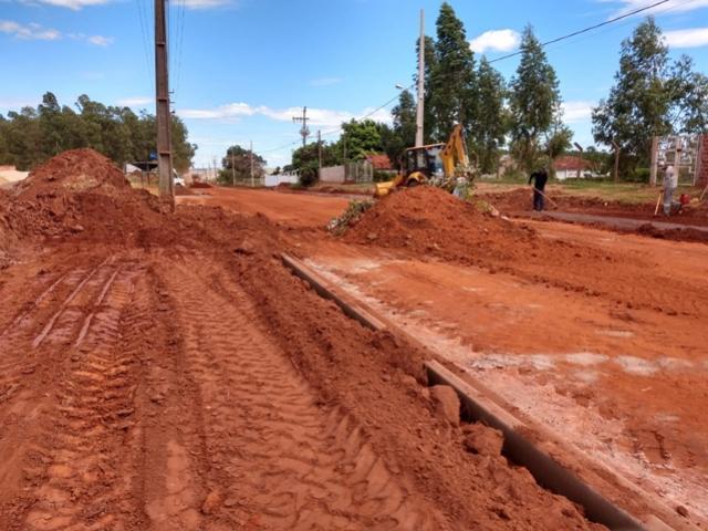 COMUNICADO: Trecho da Av. Contorno Norte no Jardim América I será interditado para pavimentação