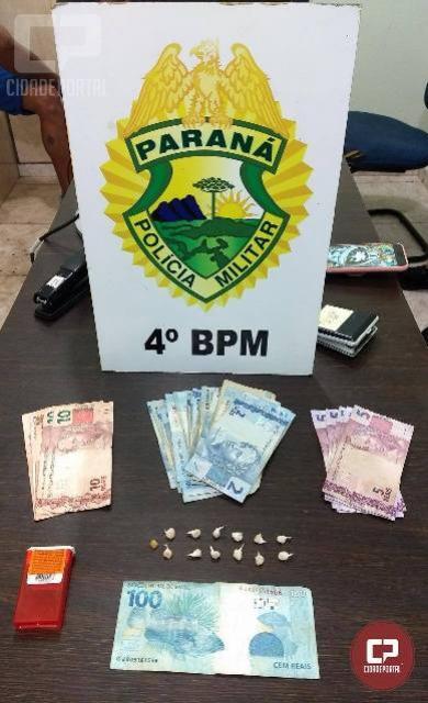 Polícia Militar prende três indivíduos por tráfico de drogas em Maringá