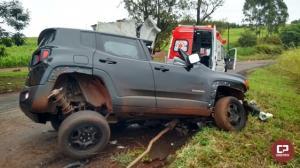Empresário morre ao colidir veículo contra árvore na PR-082 em Engenheiro Beltrão