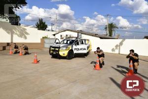 Policiais Militares da Rotam da 3ª CIPM participam de instruções na 2ª ESFAEP em Maringá